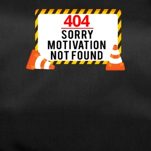 404 - Pas de motivation! - Sac de sport