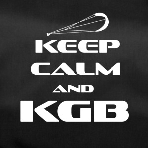 KITESURFING - KEEP CALM AND KGB - Sporttasche