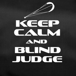 KITESURFING - KEEP CALM AND BLIND JUDGE - Sporttasche