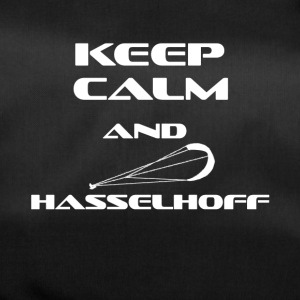 KITESURFING KEEP CALM AND HASSELHOFF - Sporttasche