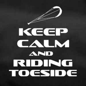 KITESURFING - KEEP CALM AND RIDING TOESIDE - Sporttasche