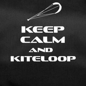 KITESURFING - KEEP CALM AND KITELOOP - Sporttasche