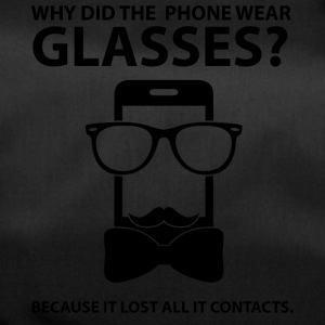 Opticians: Why Did The Phone Wear Glasses? Because - Duffel Bag