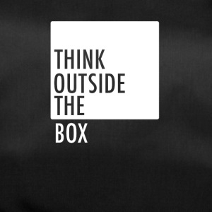 think outside the box be different motivation neu - Sporttasche