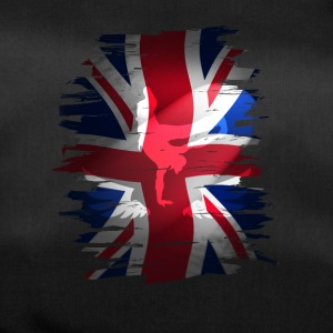 Union Jack flag skater Uk London lol kurre - Sportstaske