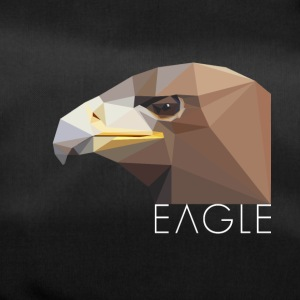 Eagle head proud Waffentier fly bird big eag - Duffel Bag