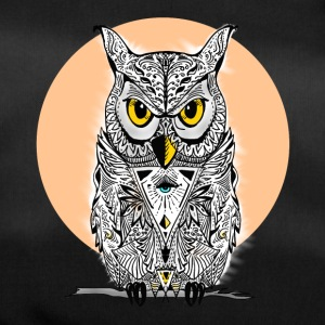 Owl mandala eyes illuminati night swag bird lol - Duffel Bag