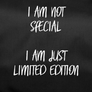 I am not special, i am just limited edition! - Duffel Bag