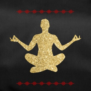 Meditation gold Design - Sporttasche