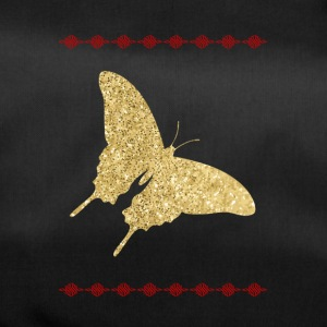 Shirt Papillon d'or - Sac de sport
