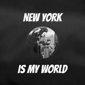 New York is my world NY - Duffel Bag