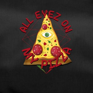 ALL EYEZ ON MY PIZZA Illuminati Italy Fun T-Shirt - Sporttasche