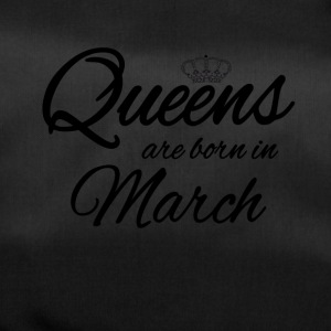 Queens Born March Princess Birthday Birthday - Duffel Bag