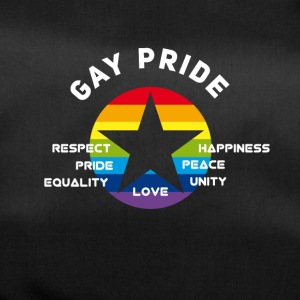 Gay Pride Respect Unity Love equality Peace csd lo - Duffel Bag