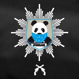 Panda coat of arms wanted pistole officially hooded lo - Duffel Bag