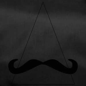 triangle moustache - Sac de sport
