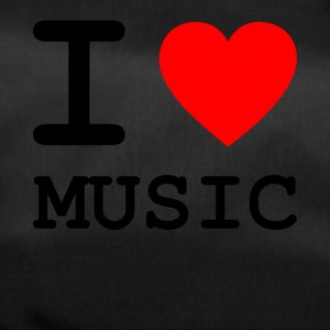 i love music v1 - Sporttasche