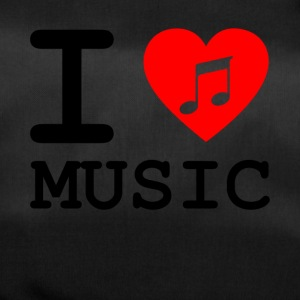 i love music v3 - Sporttasche
