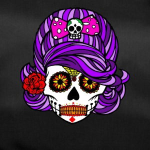 Halloween / Pretty Scary Skull Girl With Ribbon - Sportsbag
