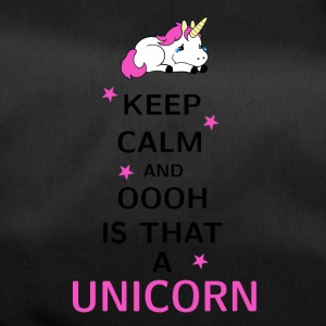 Keep Calm and ooh is that a Unicorn - Duffel Bag
