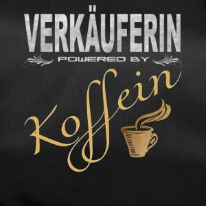 Verkäuferin powered by Koffein - Sporttasche