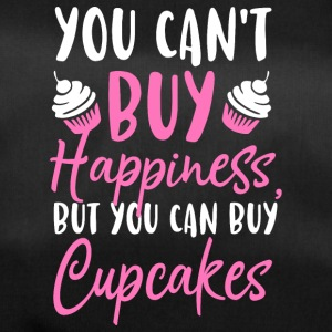 You can´t buy happiness but you can buy Cupcakes - Sporttasche