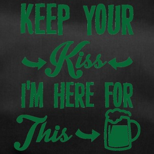 Irland / St. Patrick´s Day: Keep Your Kiss. I´m - Sporttasche