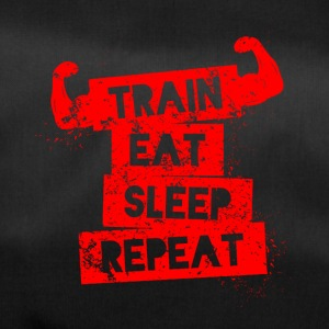 Train eat sleep repeat! - Duffel Bag