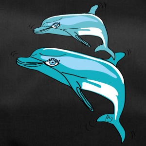 Dauphins, Illustration - Sac de sport