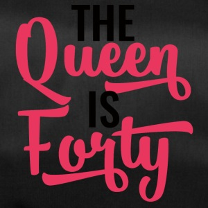 40. Geburtstag: The Queen Is Forty - Sporttasche