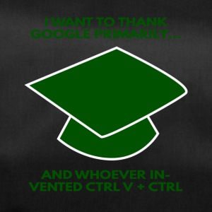 High School / Graduation: I want to thank Google - Duffel Bag