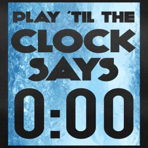 Eishockey: Play ´til the clock says 0:00 - Sporttasche