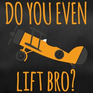 Pilot: Do you even lift bro? - Sporttasche