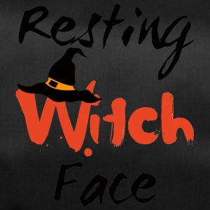 Halloween: Resting Witch Face - Duffel Bag