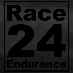 Race24 logo in black - Duffel Bag