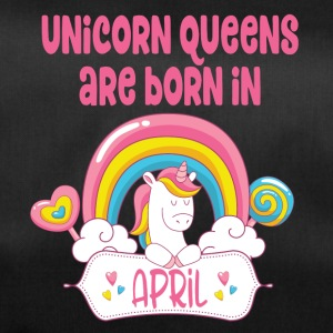 Unicorn Queens zijn geboren in april - Sporttas