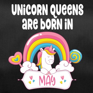 Unicorn Queens are born in May - Sporttasche