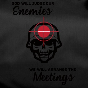 Militär / Soldaten: God Will Judge Our Enemies. We - Sporttasche