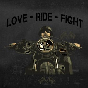 RIDE MOTOR - LOVE - FIGHT - Sporttas