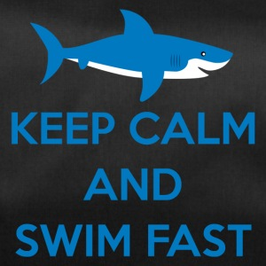 Simning / float: Keep Calm and Swim Snabb - Sportväska