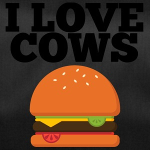 Cow / Farm: I Love Cows - Duffel Bag