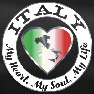Italy - My Heart My Soul My Life - Sporttasche
