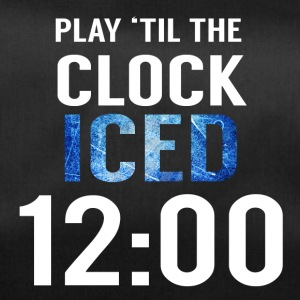 Hockey: Play'til the clock iced 12:00 - Duffel Bag