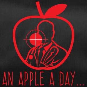 Doctor / Health Practitioner: An Apple A Day Keeps The Doctor - Duffel Bag