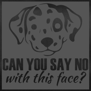 Dog / Dalmatian: Can You Say No With This Face? - Duffel Bag