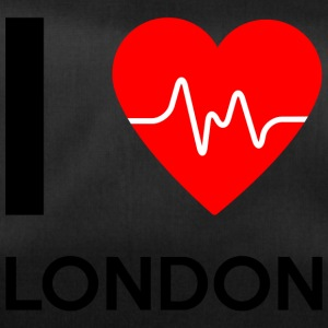 I Love London - jeg elsker London - Sportstaske