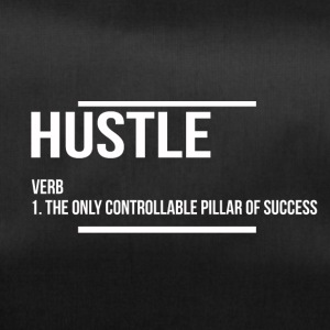 hustle verb - Duffel Bag