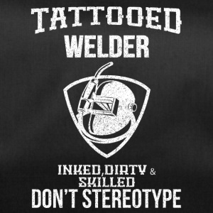 TATTOOED WELDER - Sporttas