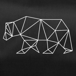 Bear geometry art - Duffel Bag