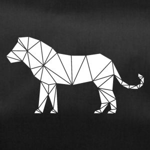 Lion geometry triangle art - Duffel Bag
